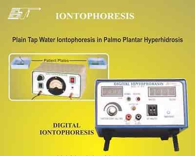 IONTOPHORESIS USED in Palmo Plantar Hyperhidrosis DIGITAL WITH TIMER GALVANIC
