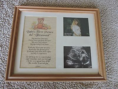 Baby's First Picture Ultrasound Frame 8x10