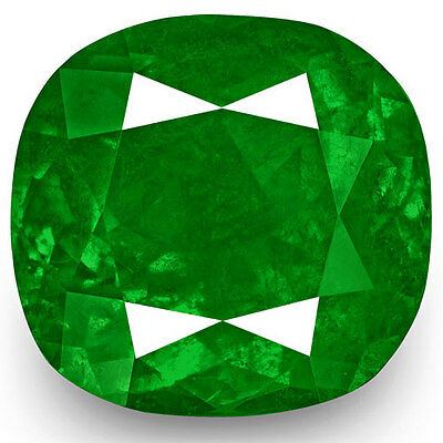 13.93-Carat Exclusive Fiery Rich Vivid Green Eye-Clean Natural Colombian Emerald