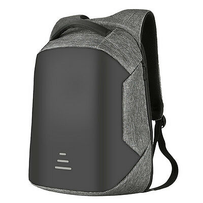 Anti-theft Waterproof Mens 15.6'' Laptop Backpack Travel Shool Bag With USB Port