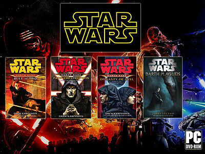 star wars audiobooks lot of 6 path of two dynasty of evil free