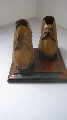 Lancashire clogs weavers antique shop display