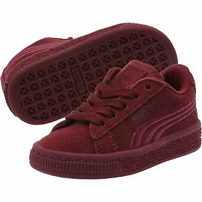 Suede Classic Badge Kids Sneakers