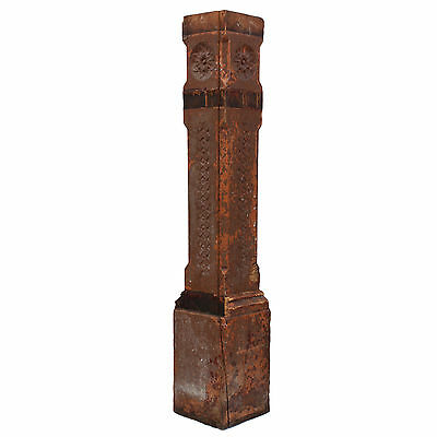 Salvaged Antique Eastlake Boxed Newel Post, Late 1800s, NNP172