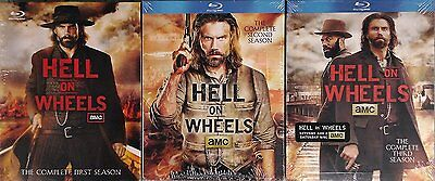 NEW - Hell on Wheels Complete Seasons 1-3 Blu-ray