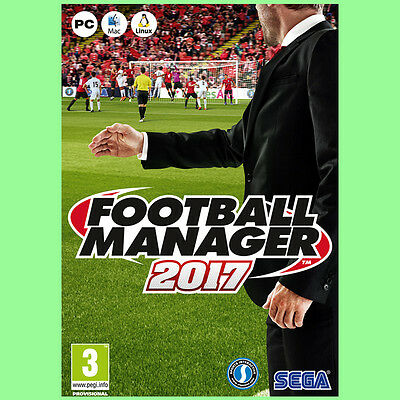Football Manager 2017 Spiel Key - Fußball Manager 2017 PC Steam Download Code DE