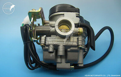 KF Brand Carb Carburetor CVK PD18J Chinese GY6 50cc Baotian Znen scooter moped