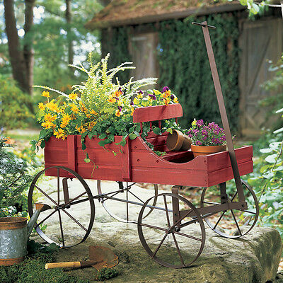 Flower Planter Cedar Wood Garden Patio Porch Rustic Decor Yard Backyard Entryway
