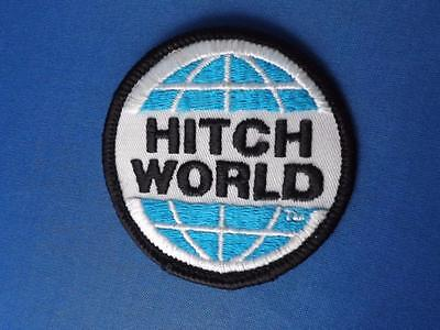 Hitch World Patch Badge Employee Company Logo Advertising