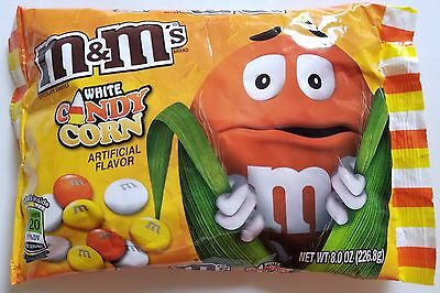 New 2017 Harvest White Candy Corn M&m's Chocolate Candies Free World Shipping