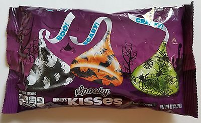 NEW Halloween Hershey's Spooky Kisses Milk Chocolates FREE WORLDWIDE SHIPPING