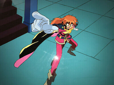 Slayers Anime Cel Layout Douga Original BG Lina Inverse Animation Art Oversized
