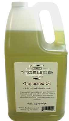 Grapeseed Oil, Organic, Soap making supplies. 7 pound Gallon.