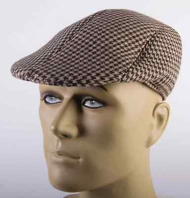 Charter Club Chenille Houndstooth Newsboy Hat Women/'s One Size NWT