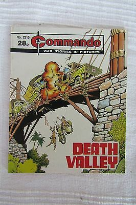 Commando comic No. 2215 Death Valley