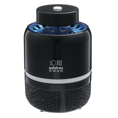 Usb Powered White Black Led Mosquito Killer Night Lamp Fly Bug Insect Zapper
