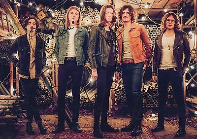 BLOSSOMS HAND SIGNED 12x8 PHOTO CHARLEMAGNE, AT MOST A KISS - TOM OGDEN 5.