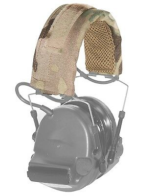 A&A Tactical, LLC DEPHC Headset Cover for Sordin Peltor Comtac TCI Liberator