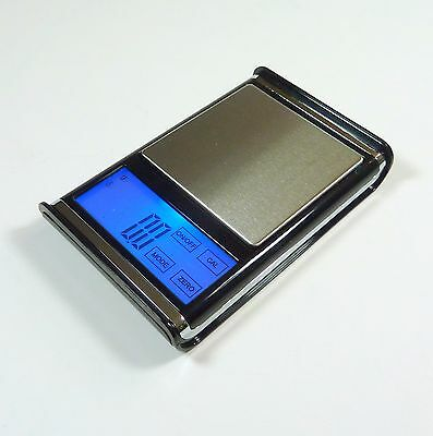 US Balance 0.1g - 1000g Pocket Digital Scale Touch Screen For Jewelry Herb Gram
