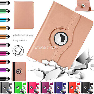 "Rotate Swivel 360 Leather Stand Case Cover Fits Apple iPad 9.7"" 2 3 4 5 6 Air 2"