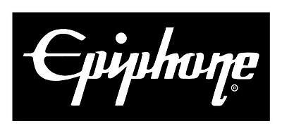 Epiphone Guitars 3X9 VINYL CAR WINDOW GUITAR CASE  AMPLIFIER DECAL STICKER