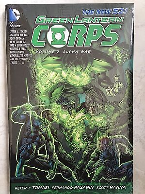 The New 52! Green Lantern Corp Volume 2 Alpha War-Hardcover&sealed-Msrp $24.99