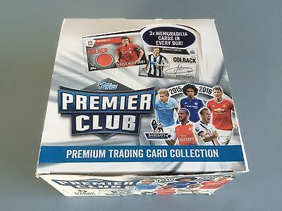 Topps 2015-16 Premier League Trading Card Collection Box 50 Packs