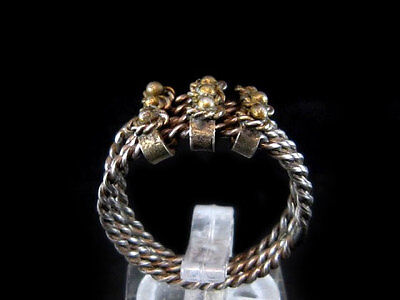 NICE VINTAGE FOUR IN ONE SILVER LADY RING DATING EARLY 20th. CENTURY!!!