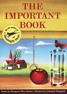 NEW The Important Book By Margaret Wise Brown Paperback Free Shipping