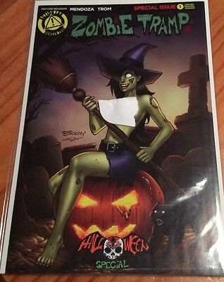 Zombie Tramp #1 Halloween Special (2015) Action Lab Risqué Limited Variant