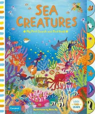 NEW Sea Creatures By Neiko Ng Board Book Free Shipping