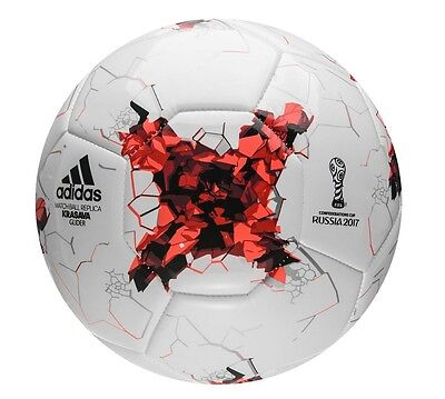Football/ Soccer Ball Adidas Con Fed Cup 2017 Glider Size 5 Save $7 On Rrp