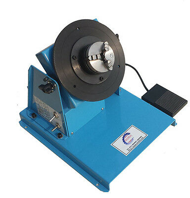 10KG 2-18RPM Light Duty Automatic Welding Positioner with 65mm 3-jaw Chuck 110V
