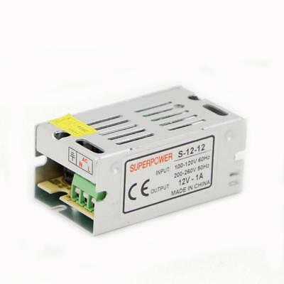 12V 1A 12W Switching Power Supply Converter Adapter For Led Strip Light