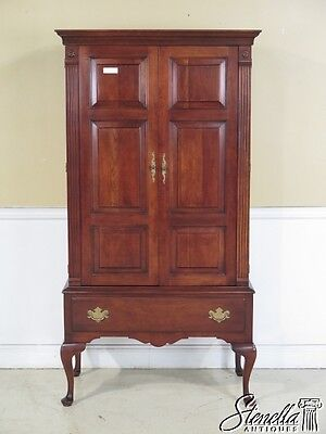 42788E: STATTON Old Towne Cherry Raised Panel Door Armoire