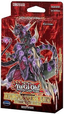 41-Card Dinosmasher's Fury Structure Theme Deck Yugioh | Sealed Genuine English