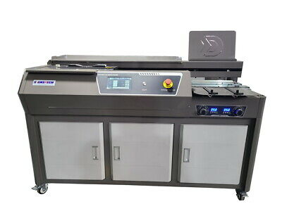 New A3 Automatic Perfect Binding Machine With Side Gluing,EVA Paper Book Binder