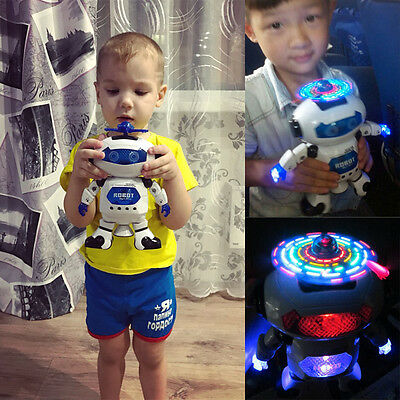 Toys Walking Child  Dance Robot Space  Music Electronic 1 Pcs  Light  Smart