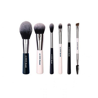 [CORINGCO] Marine Blue Make-up Brush Collecion 6p - BEST Korea Cosmetic