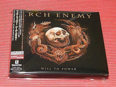 2017 JAPAN CD ARCH ENEMY Will To Power with Bonus Tracks Sticker Poster