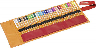STABILO Point 88 Penna Fineliner Colori assortiti Roller Set da 30 Rollset