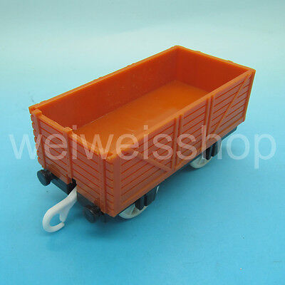 NEW FISHER-PRICE THOMAS & FRIENDS CARGO CAR for TRACKMASTER ENGINE TRAIN BROWN 3