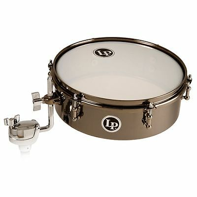 Latin Percussion LP813-BN LP 4x13 Drum Set Timbale - Black Nickel