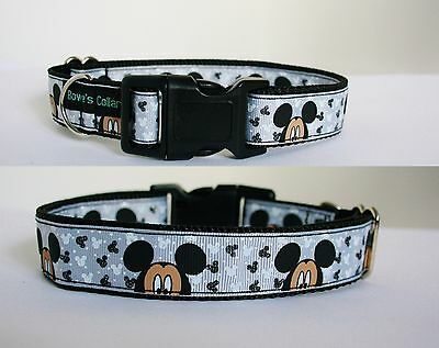 Mickey Mouse Disney Dog Collar or Matching Lead or Seat Belt Minnie Pluto Dog