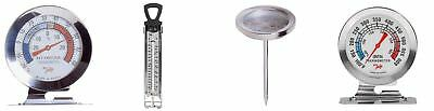 Fridge Refrigerator Freezer Jam Sugar Confectionery Meat Oven Thermometer SS