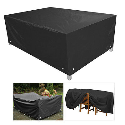 Outdoor Furniture Cover Patio Garden Table Chair Shelter Sun Protector 3 Sizes