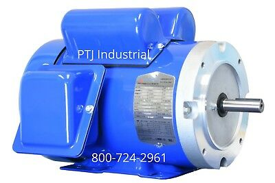 1.5 hp electric motor 56c 1 phase 1800/1750 rpm 115/230  enclosed f56ch1.5s4c