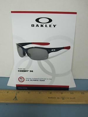 Oakley 2012 Olympic Team Commit SQ counter display NEW old stock Mint Condition