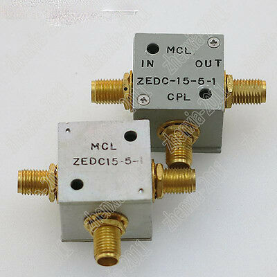 1PC used Mini-circuits ZEDC-15-5-1 RF SMA RF coaxial directional coupler