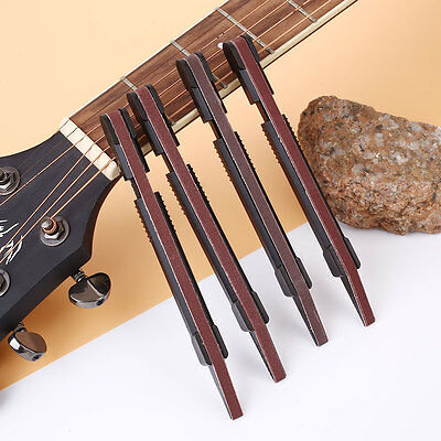 Guitar Fret Crowning Dressing File Luthier Sanding Tool Stick Set Black